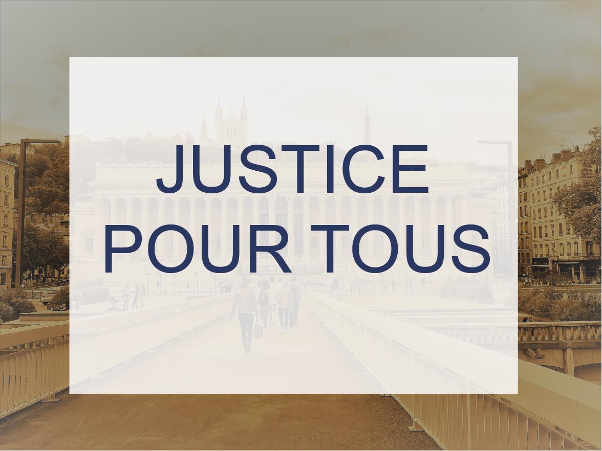Illustration : Justice pour tous