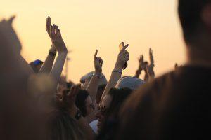 Concert illustrant la revente de billets