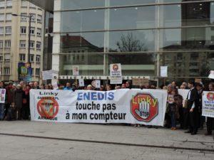 """Action collective conjointe """"Stop Linky Lyon"""", portée par Me Edouard Raffin, avocat au Barreau de Lyon"""